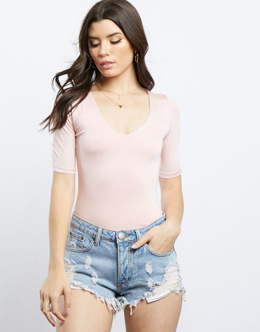 Pretty In Pink Blush Bodysuit