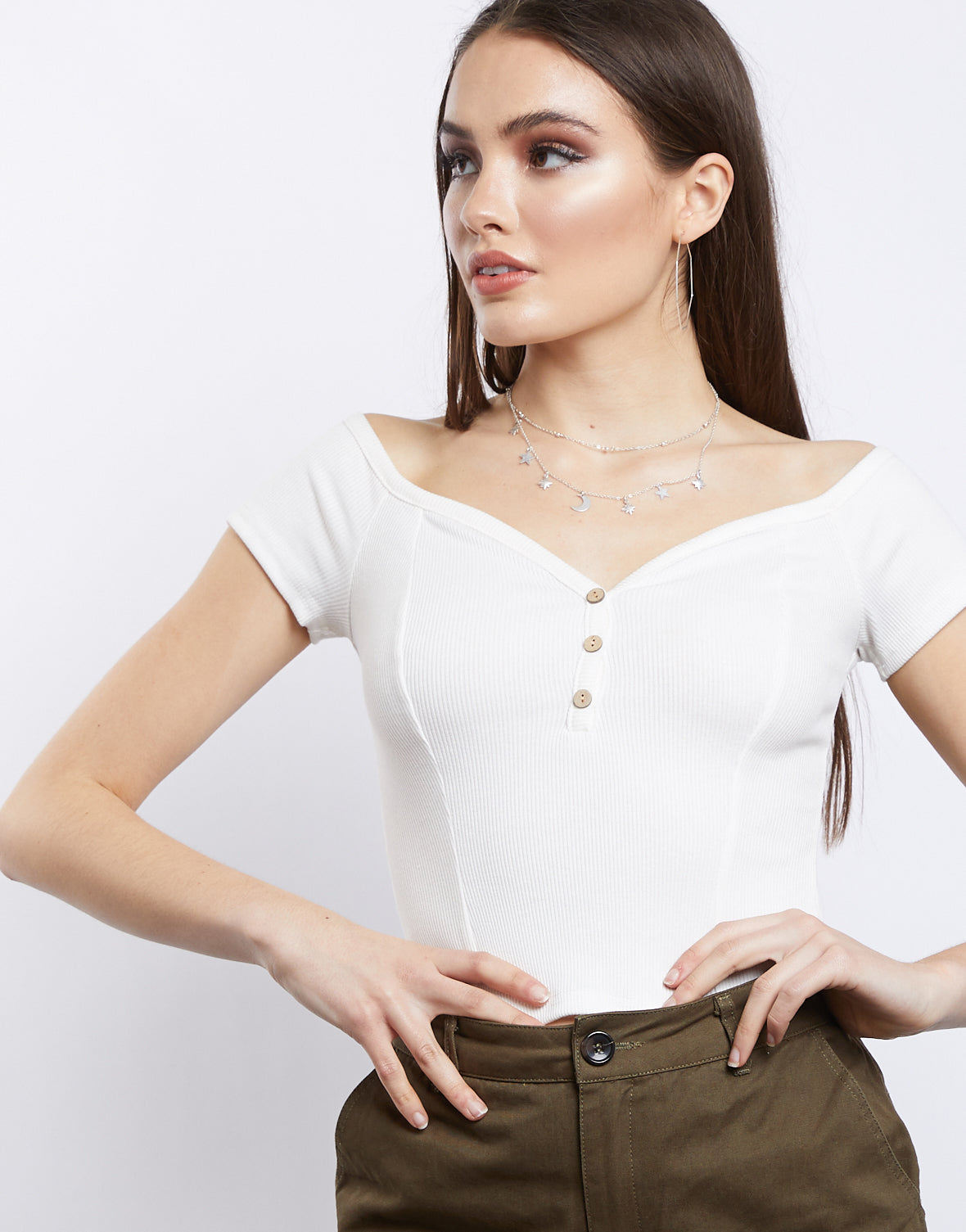 Princess Bella Off-the-shoulder Top