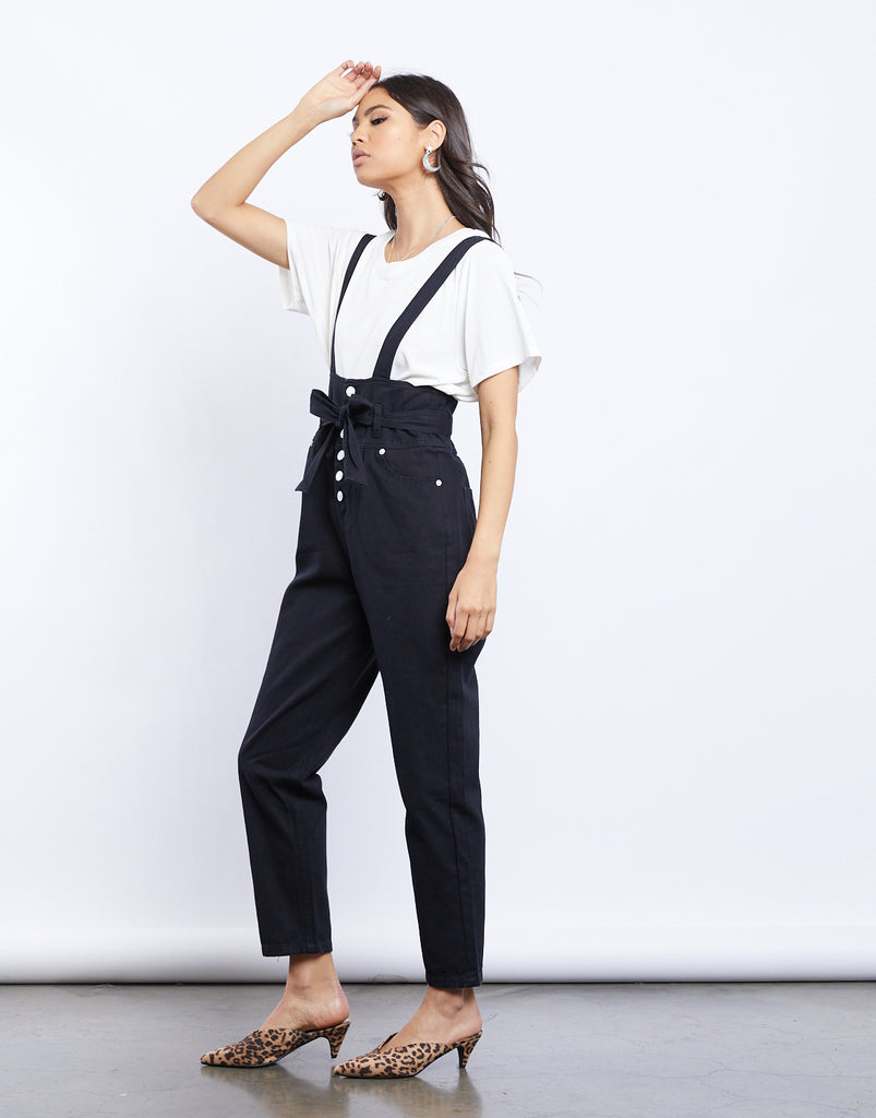 Quinn Denim Overalls Rompers + Jumpsuits -2020AVE