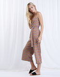 Rainbow Striped Jumpsuit