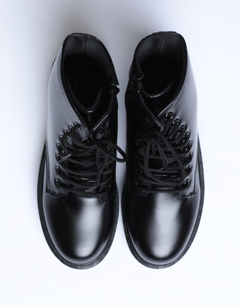 Raven Platform Combat Boots Shoes -2020AVE