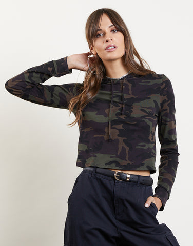 Ready For You Cropped Hoodie