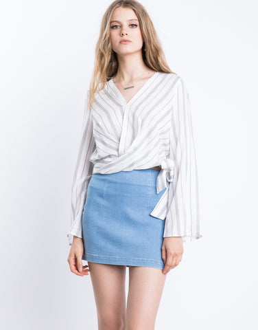 Resort Bell Sleeve Top