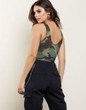 Riley Camo Bodysuit