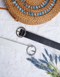 Ring It Up Circle Buckle Belt