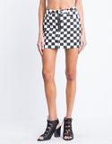 Ring Out Checkerboard Skirt