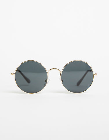 Round and Round Colored Sunglasses