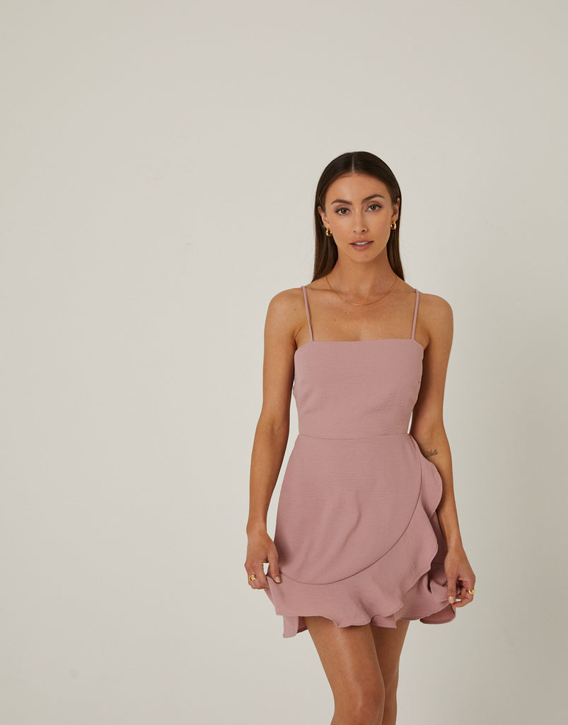 Ruffle Mini Dress Dresses -2020AVE