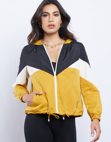 Sammy Color Block Windbreaker