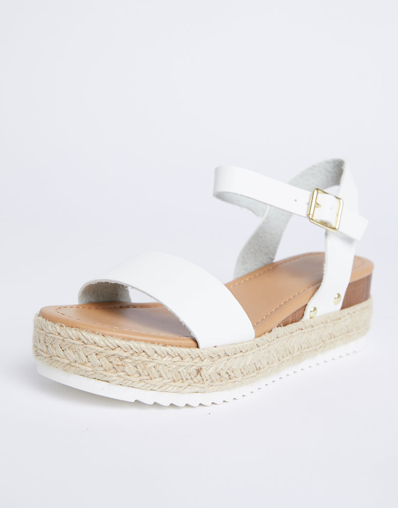 Sandy Platform Espadrilles Shoes -2020AVE