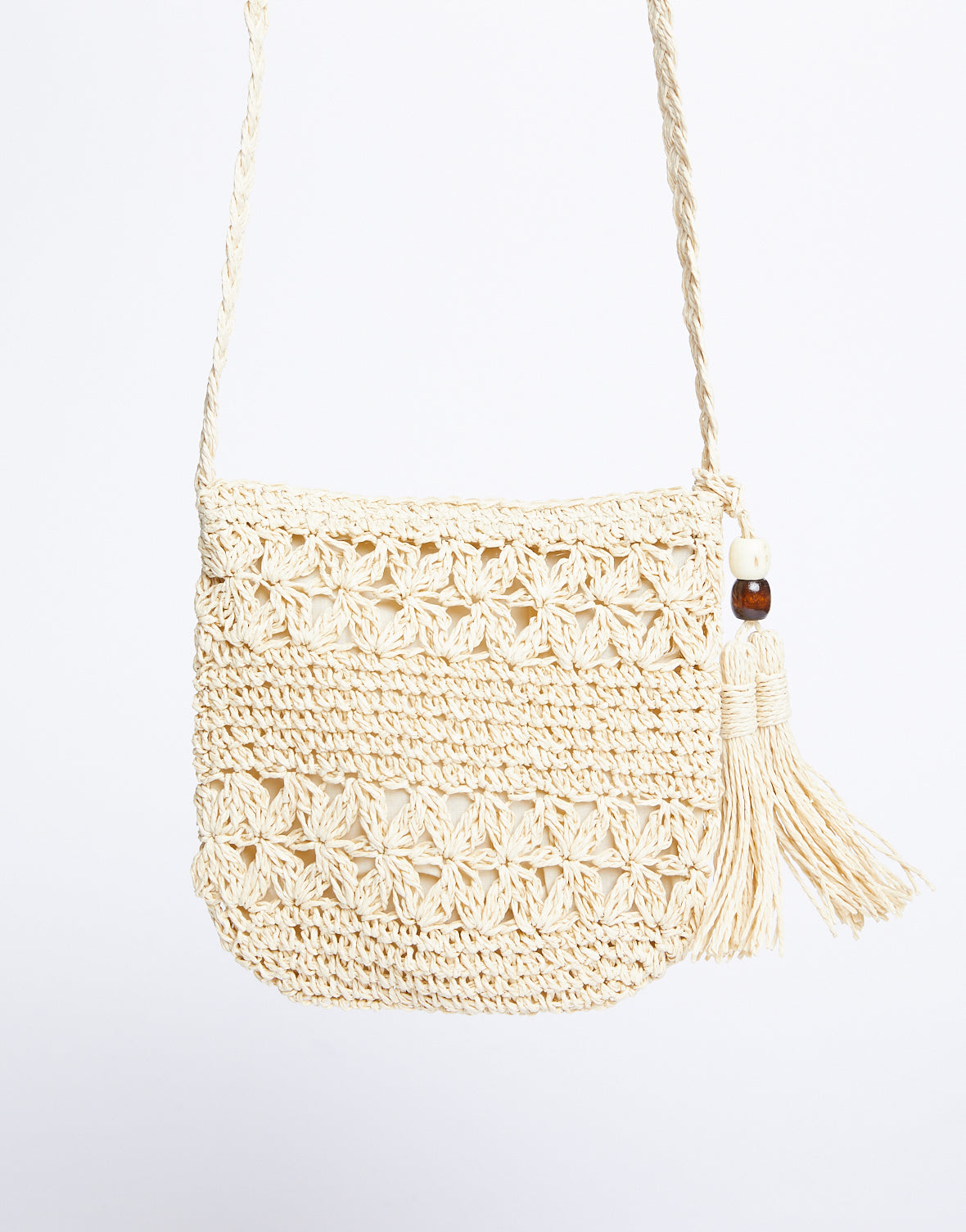 Seashore Woven Shoulder Bag