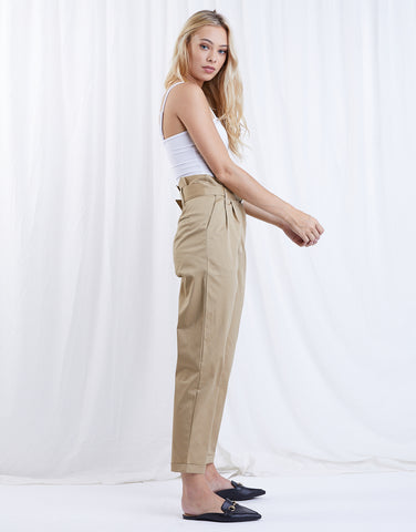 Sense Of Purpose Paper-bag Pants