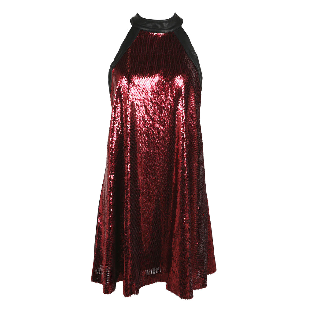 Sequin Flare Mini Dress - 2020AVE