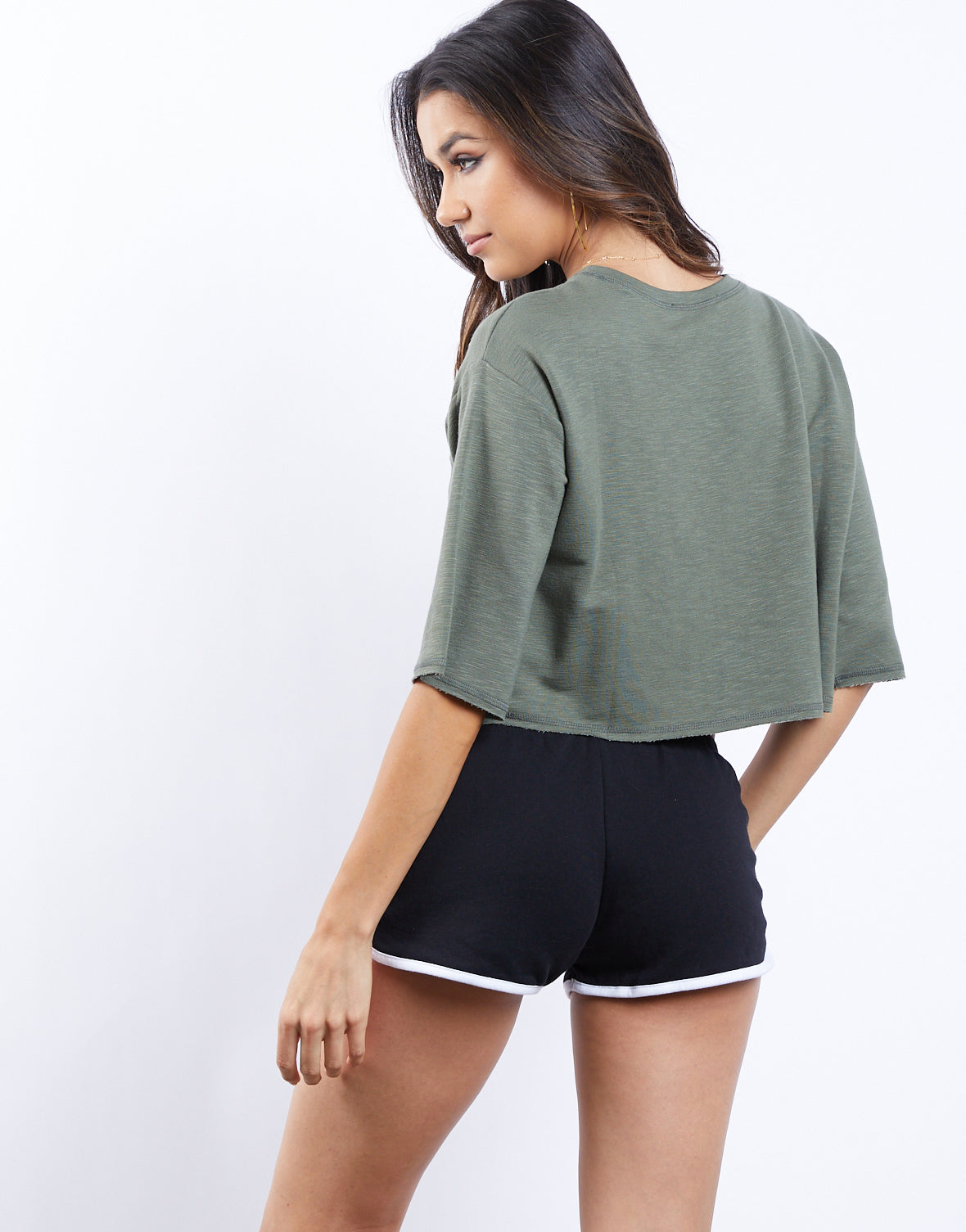 Short Notice Crop Top