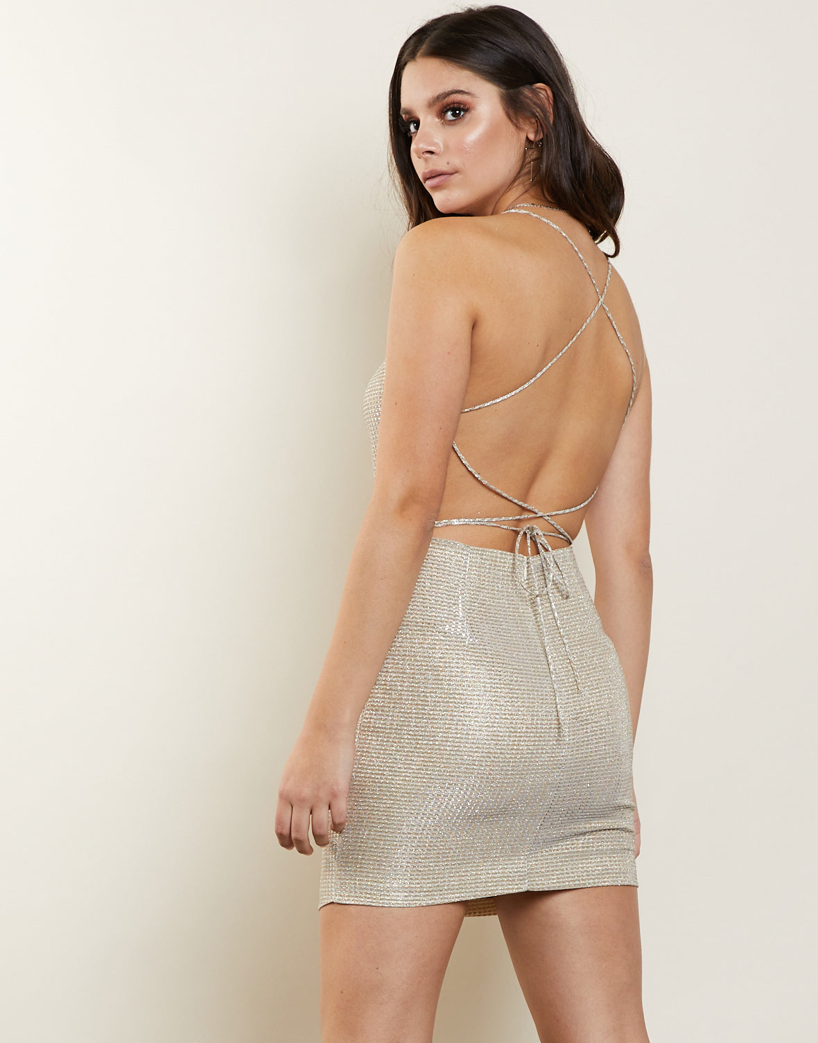Silver Lining Party Dress