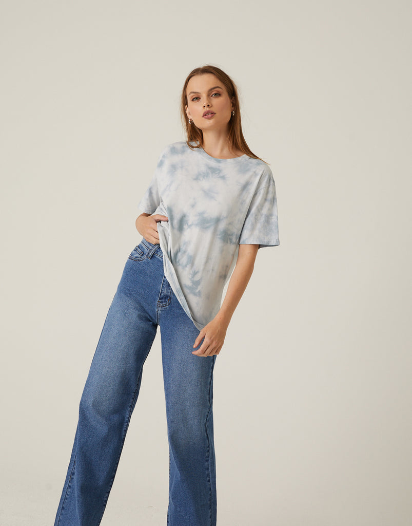 Simple Tie Dye T-Shirt Tops -2020AVE
