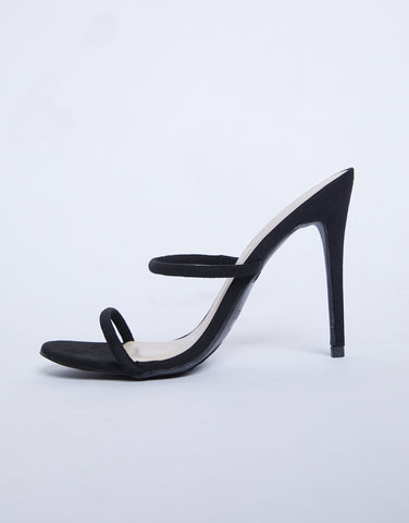 Simple And Chic Strappy Stillettos