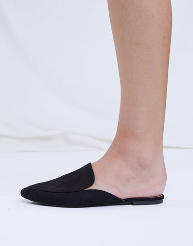 Simply Suede Mule Loafers