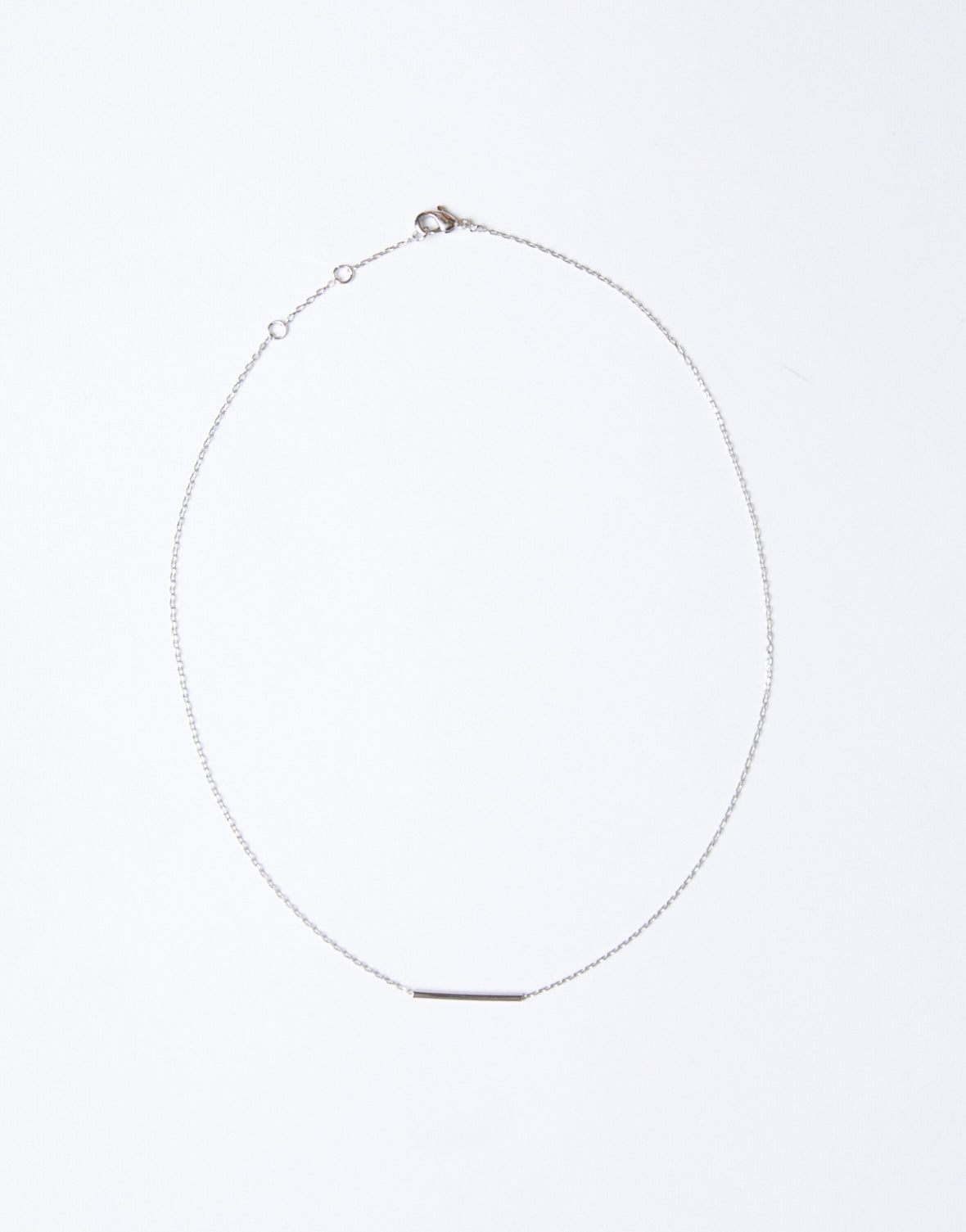 Single Bar Choker Necklace