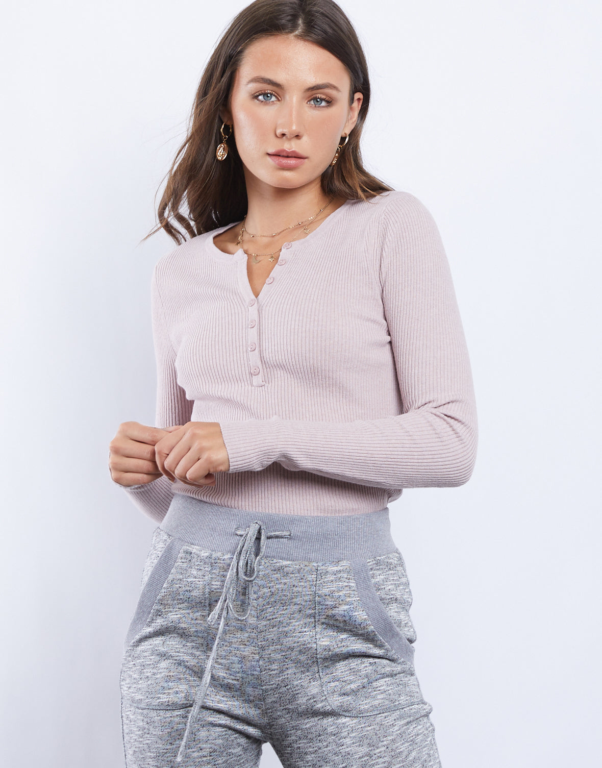 Soft And Sweet Long Sleeve Top