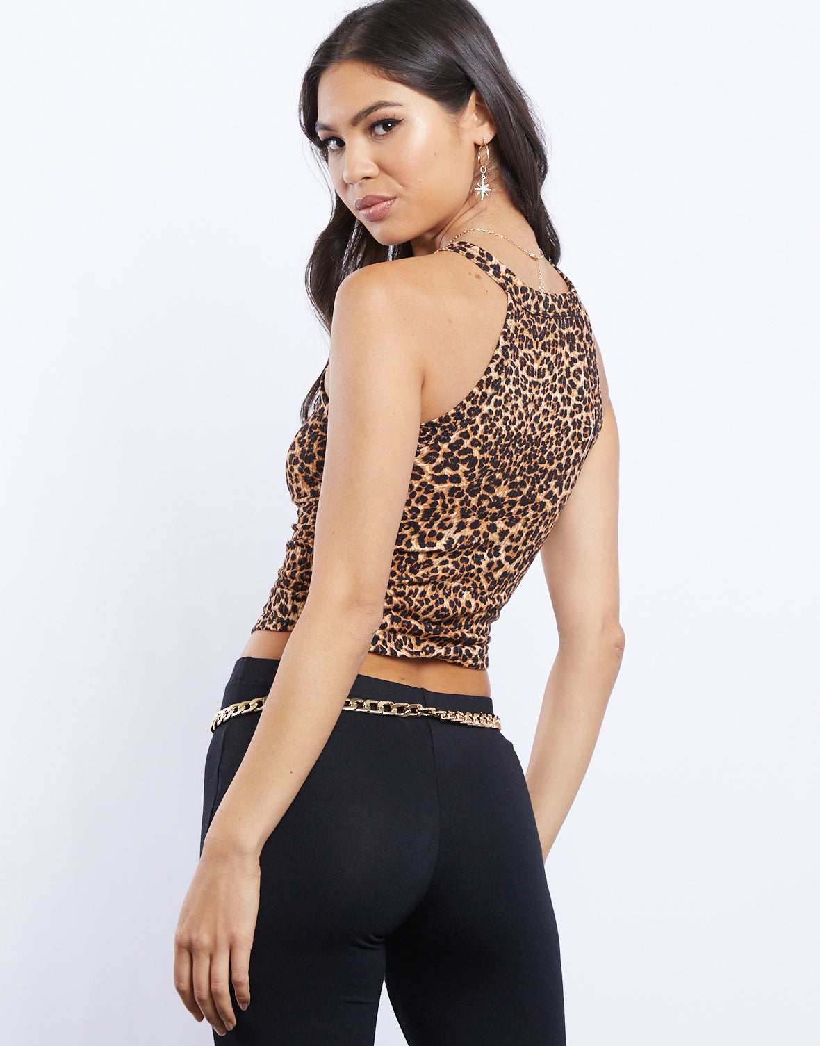 Something Wild Leopard Tank Top