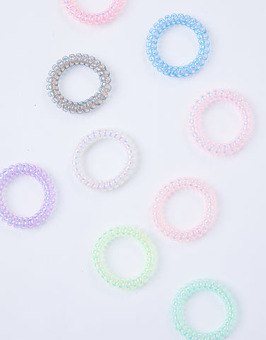 Spiral Hair Ties Set