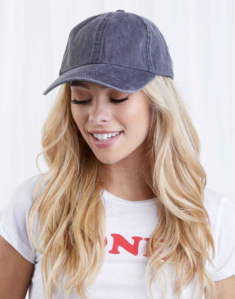 Sporty Jean Baseball Cap Accessories Blue Denim -2020AVE
