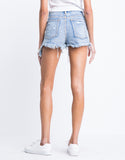 Spring Break Distressed Denim Shorts