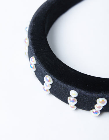 Statement Pearl Headband