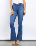 Stella High Waisted Flare Jeans