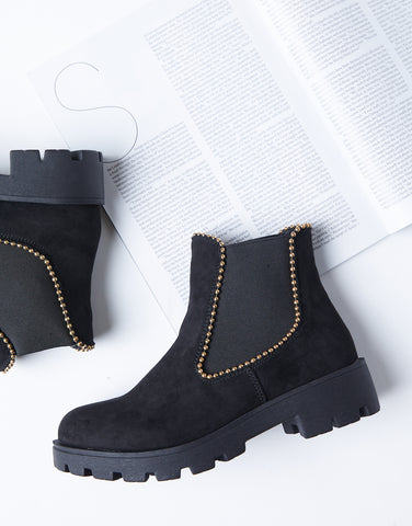 Steppin' Out Suede Chelsea Boots