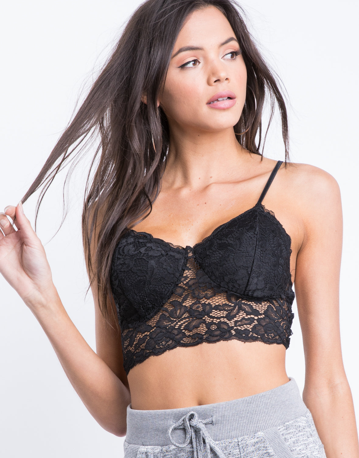Strappy Cage Back Bralette