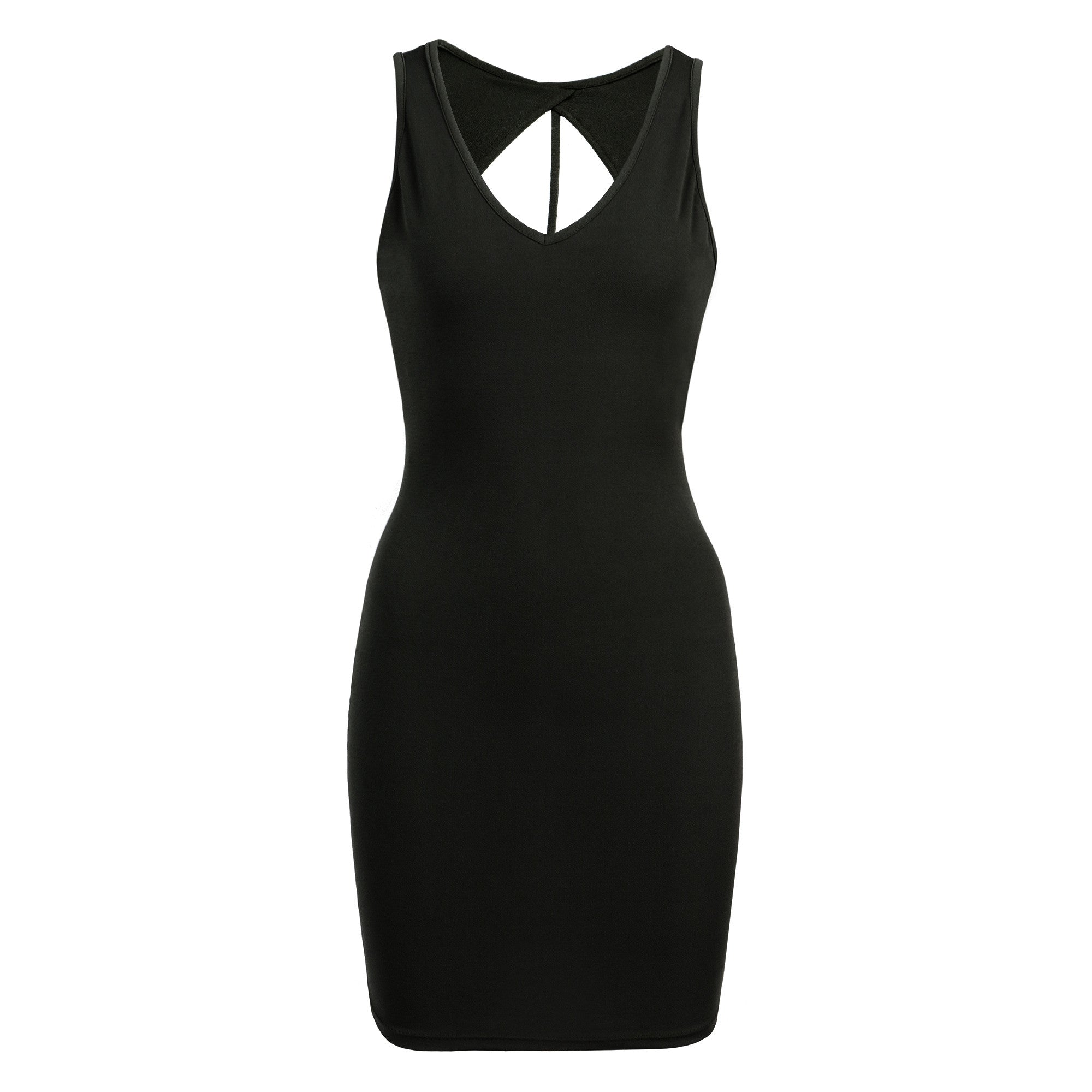 Strappy Back Bodycon Dress - 2020AVE