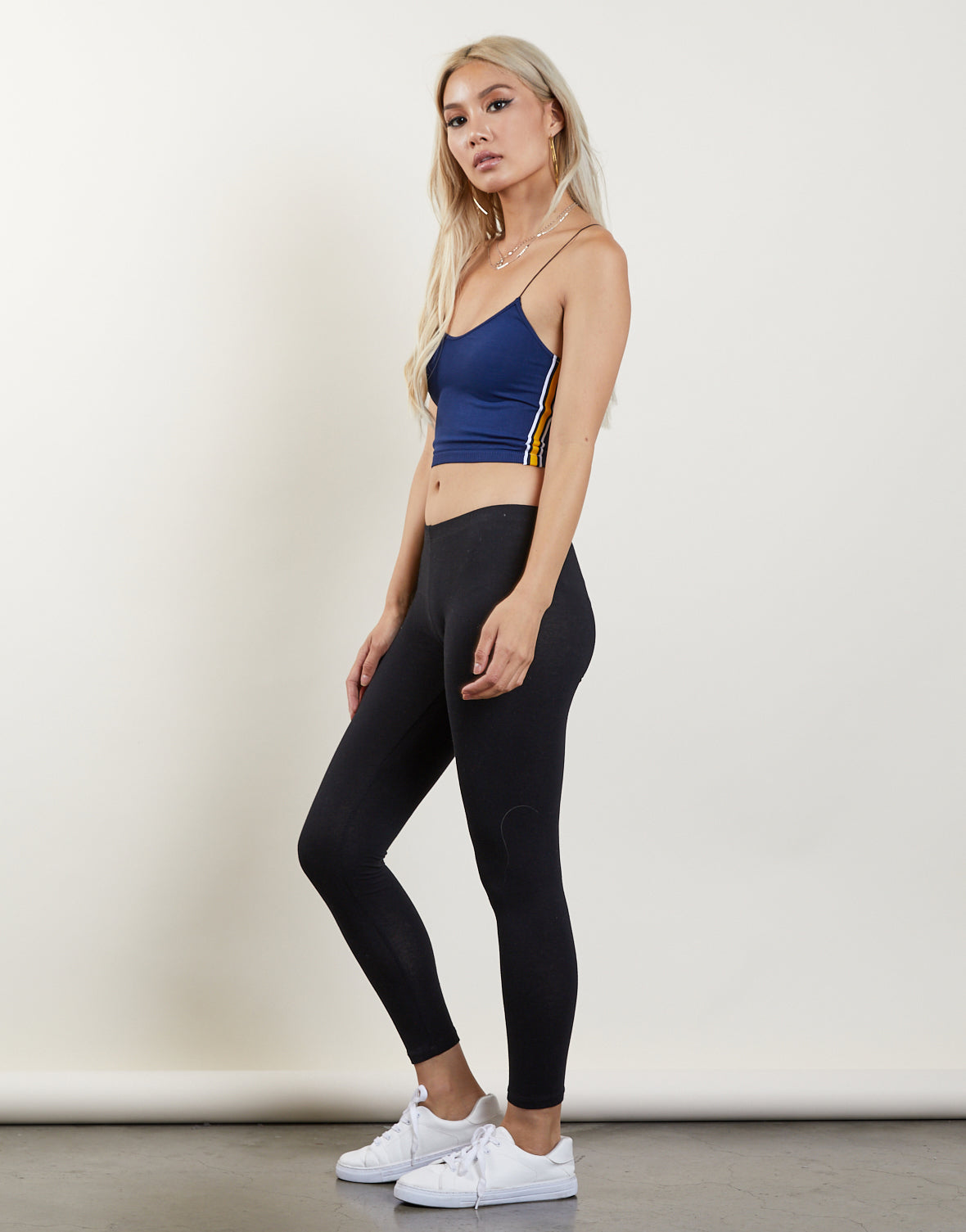 Stretch It Out Sporty Crop Top
