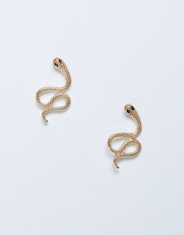 Stud Snake Earrings