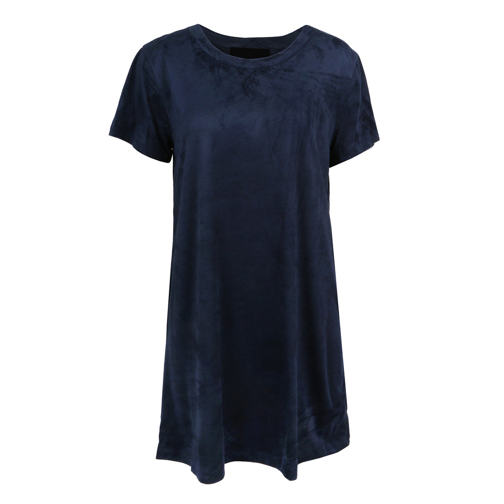 Suede T-Shirt Dress - 2020AVE