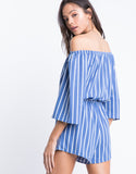 Summer Time Striped Romper