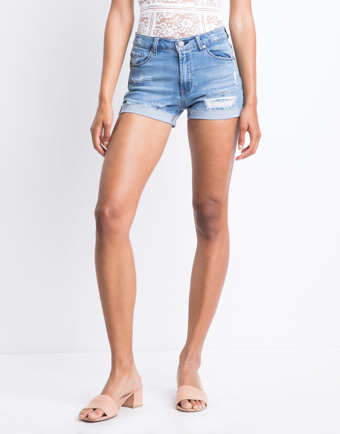 Summer Afternoon Denim Shorts