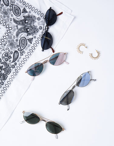 Summer Days Oval Sunnies