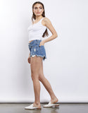 Summer Vibe Denim Shorts