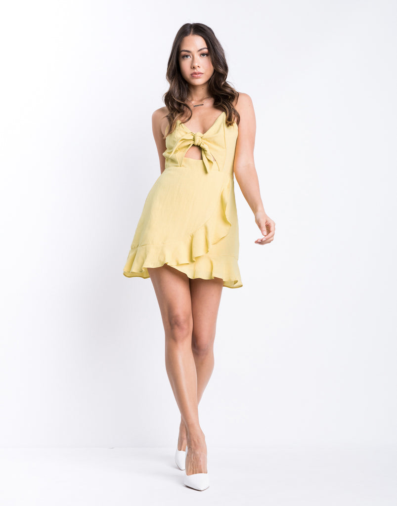 Sunny Tie Front Dress Dresses -2020AVE