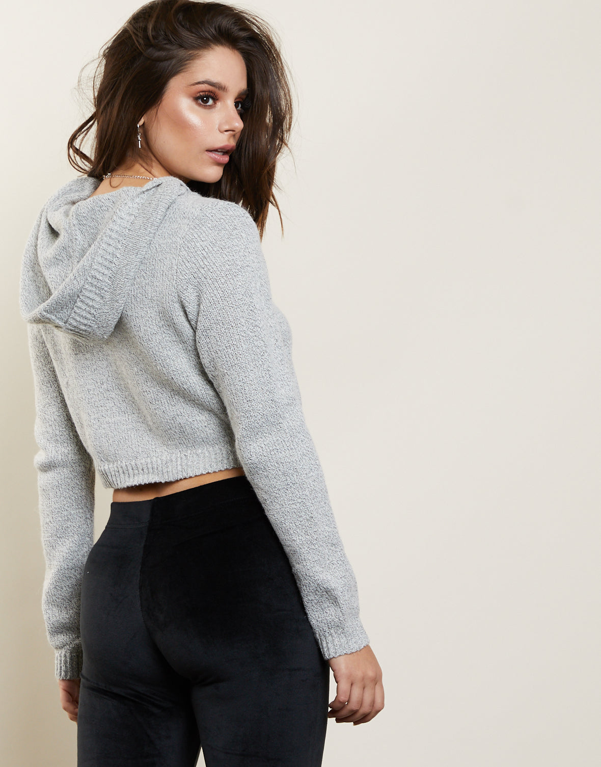Sweet Dreams Cropped Sweater