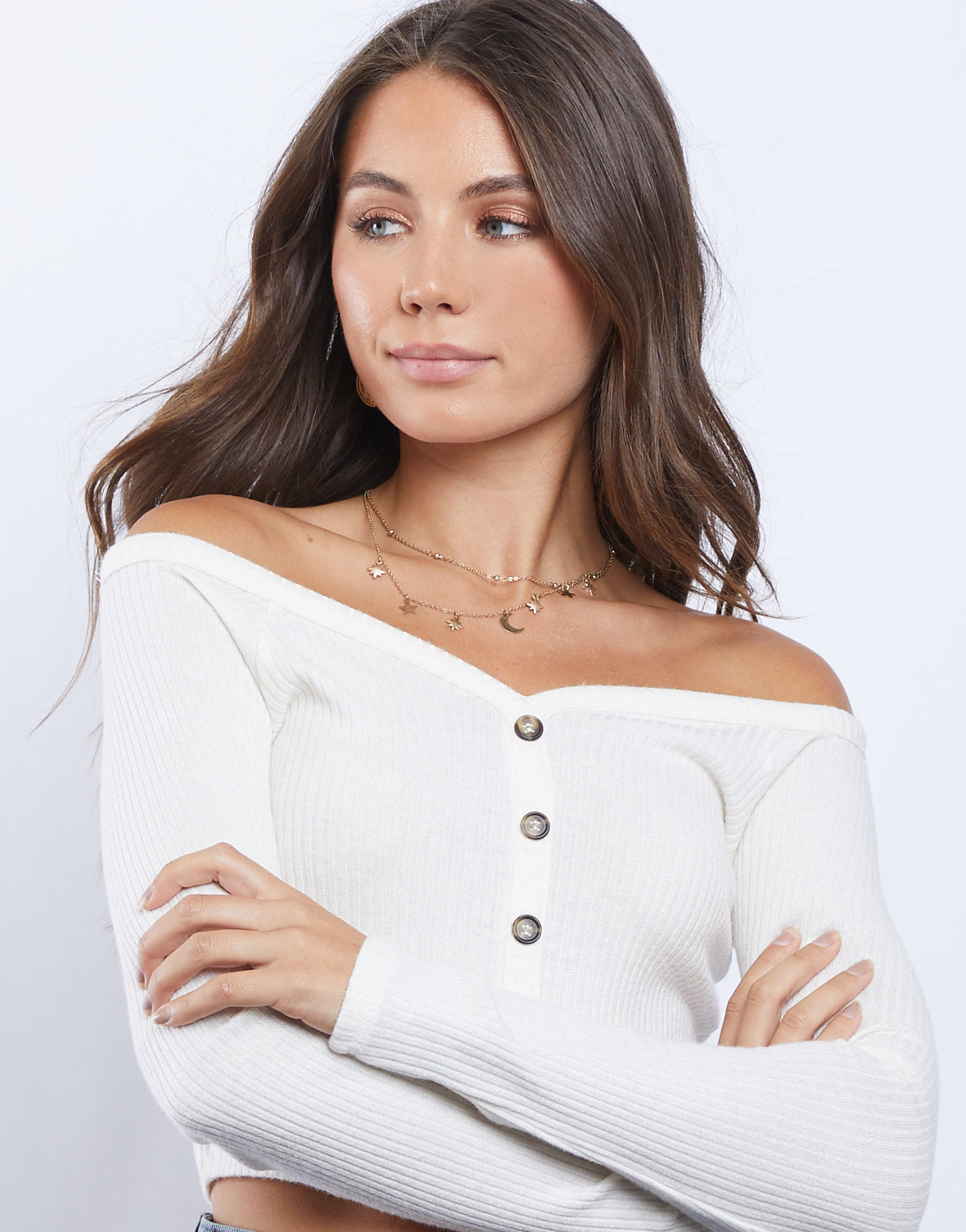 Sweetie Off the Shoulder Top