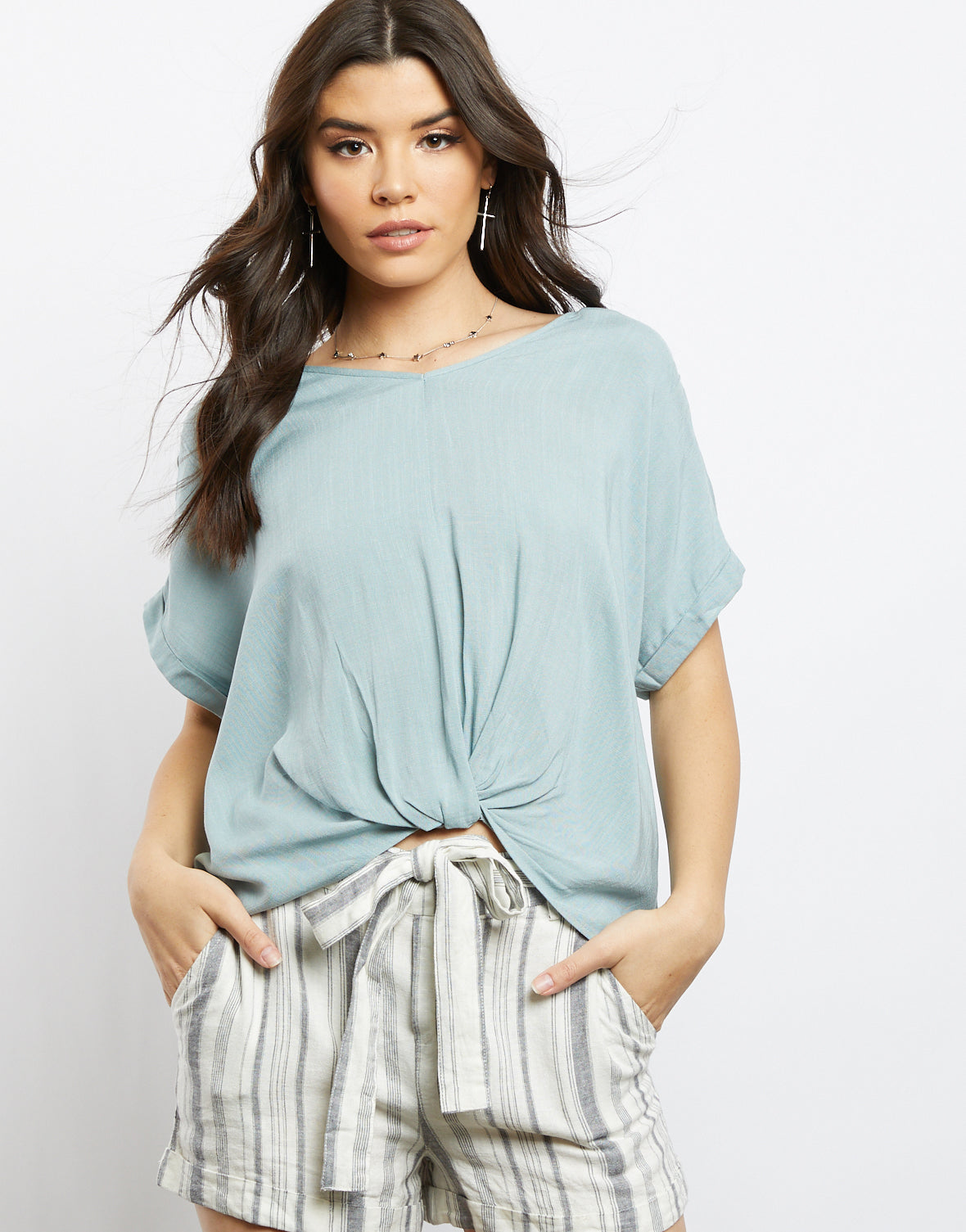 Kennedy Twisted Tee
