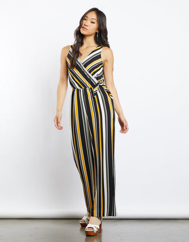 Eva Multicolored Striped Jumpsuit