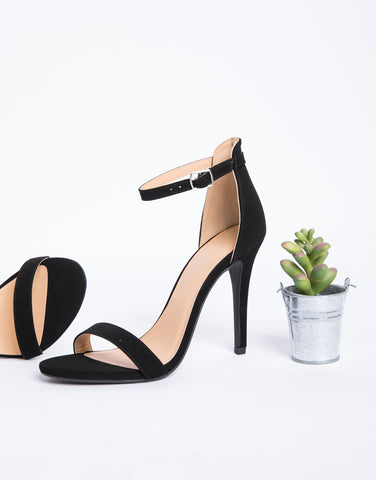 Simplicity Ankle Strap Heels