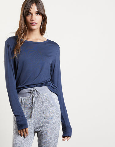 Take It Easy Long Sleeve Top