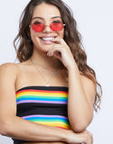 Taste the Rainbow Tube Top