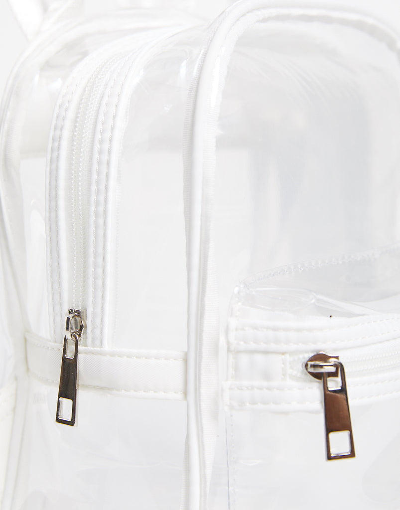 The All Clear Mini Backpack Accessories Clear/White One Size -2020AVE