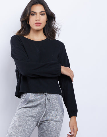 The Cozy Girl Thermal Top